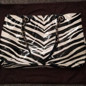 kate spade Bags - Authentic Kate Spade Leather Zebra Print Bag